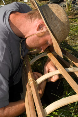 brianlashing Animating a Hide on Frame Greenland Kayak