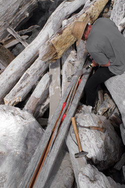 briansplitting Animating a Hide on Frame Greenland Kayak