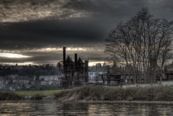 Gasworks Park from the water