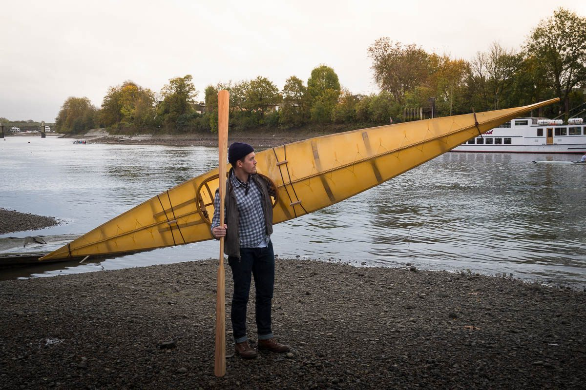 Kayaks invade Europe! Photos from UK workshop